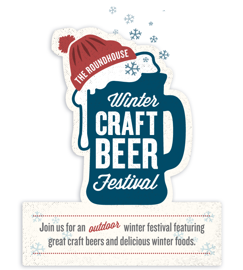 roundhouse winter craft beer festival great lakes brewery. Black Bedroom Furniture Sets. Home Design Ideas