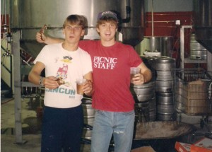 peter and lackey early days